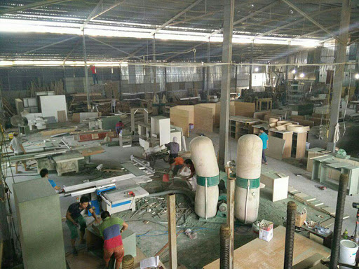 Xưởng thi công nội thất Hà Nội - Nội Thất Nhà Xanh