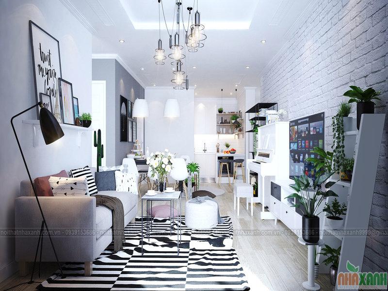Thiết kế nội thất chung cư trọn gói cần lưu ý những gì