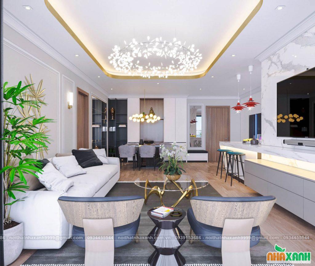 Kinh nghiệm khi thuê đơn vị thi công thiết kế nội thất chung cư
