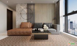 Kinh nghiệm thiết kế căn hộ 3 phòng ngủ