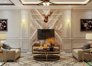 Thiết kế nội thất biệt thự sang trọng, đẳng cấp