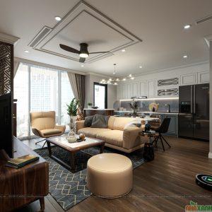 Thiết kế thi công chung cư Vinhomes