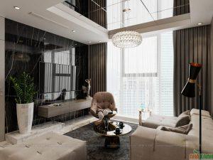 thiết kế nội thất chung cư phong cách hiện đại tại hà nội