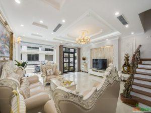 thiết kế nội thất phong cách luxury