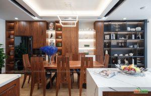 nội thất gỗ óc chó hiện đại cao cấp