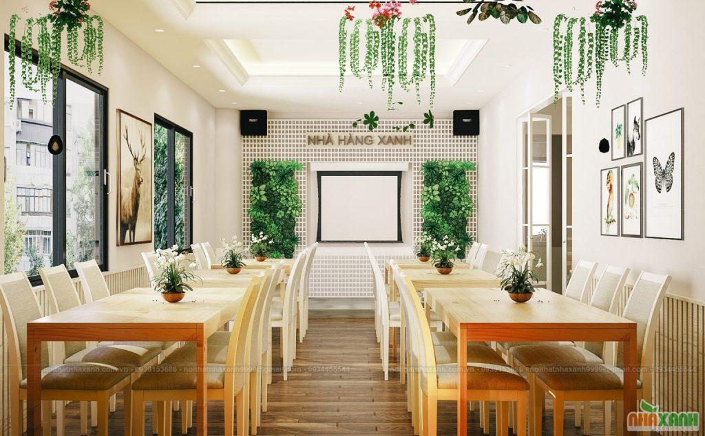 Nguyên tắc thiết kế nhà hàng đẹp