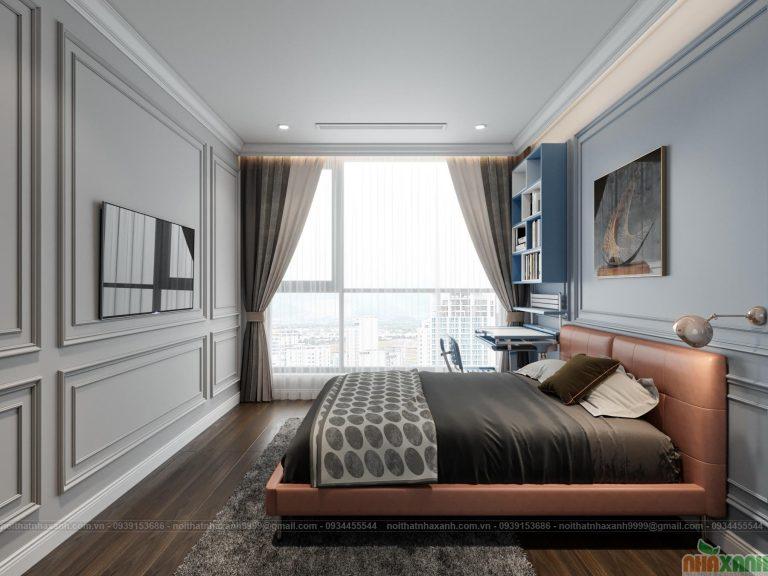 Thiết kế phòng ngủ đẹp, hiện đại, sang trọng